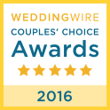 Wedding Wire Award 2016